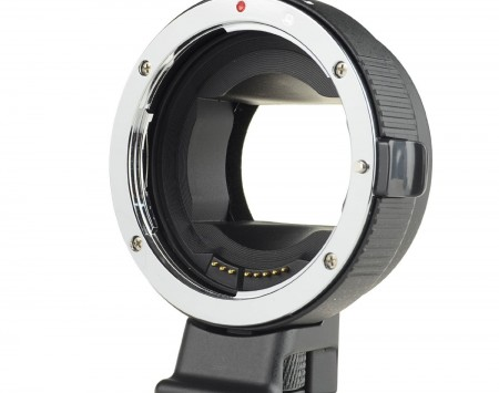 Auto-Focus mount adapter EF-NEX Black Version 10