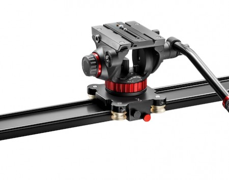 Manfrotto Slider 100 + 502 head