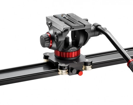 Manfrotto Slider 60 + 502 head