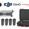 DJI Osmo X3 Professional KIT | HPRC Osmo hardcase + 4x Intelligent Battery