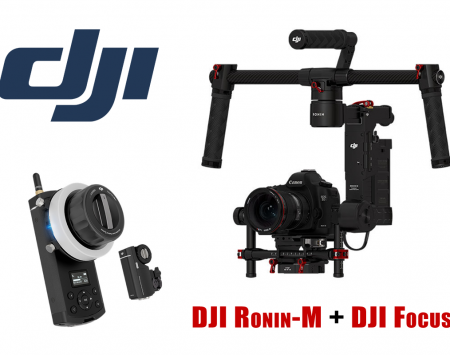DJI Ronin-M DJI Focus bundle