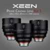 XEEN Prime Cinema Lens Kit | 24mm, 50mm, 85mm T1.5 with SKB hardcase