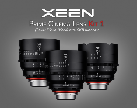 XEEN Prime Cinema Lens Kit 1
