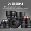 XEEN Prime Cinema Lens Kit 2 | 14mm, 24mm, 35mm, 50mm, 85mm with SKB hardcase