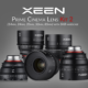 XEEN Prime Cinema Lens Kit 2