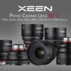 XEEN Prime Cinema Lens Kit 3 | 14mm, 24mm, 35mm, 50mm, 85mm, 135mm with SKB hardcase