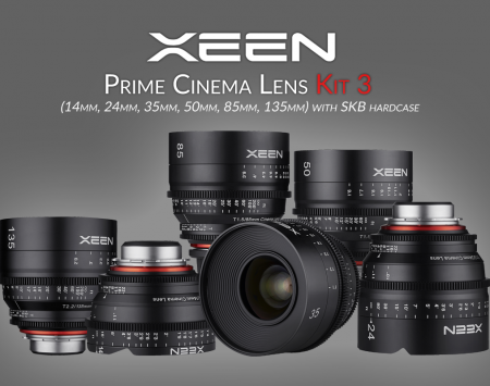 XEEN Prime Cinema Lens Kit 3
