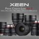 XEEN Prime Cinema Lens Kit 3