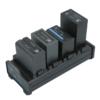 FXLION Quad-channel DV battery universal charger