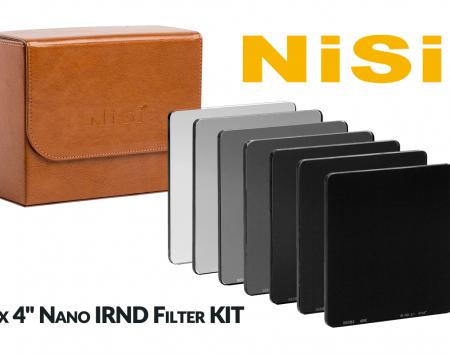NiSi 4 x 4 Nano IRND Filter KIT