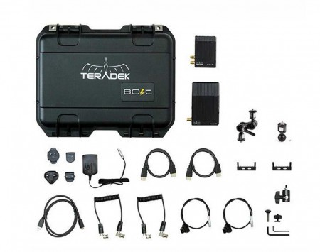 Teradek Bolt 500 Deluxe Kit SDI HDMI Wireless Video Transceiver Set