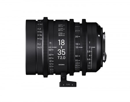 Sigma Cine 18-35mm T2
