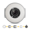 F&V R300S SE Bi-color Ring Light