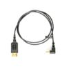 thinFlex Right Angle HDMI to HDMI – 4K60p HDMI Kabel 80cm
